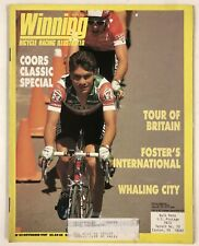 Vintage Nov 1987 Winning Cycling Bicycle Racing Illustrated Magazine Issue #52