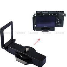 L Vertical Quick Release Plate Camera Grip for Sony EVIL NEX-6 NEX-7 RX1 a7 a7R