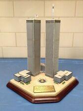 Danbury Mint - Twin Towers 2001 Commemorative World Trade Center 9 / 11