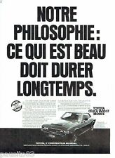 PUBLICITE ADVERTISING 116  1977   Toyota   la Célica 1600 ST