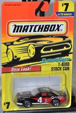 Matchbox 1997 Super Fast #7 New Look CARR T-Bird Stock Car MOC Tyco Toys MB212