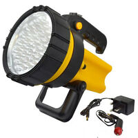 37 LED TORCH RECHARGEABLE SPOTLIGHT LANTERN WORK LIGHT 1 MILLION CANDLE POWER