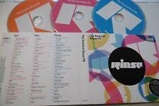 RINSE FM THE SOUND OF RINSE FM 3 CD M.O.S P.A. 2015 SKEPTA MAYA STORMZY JAMIE XX