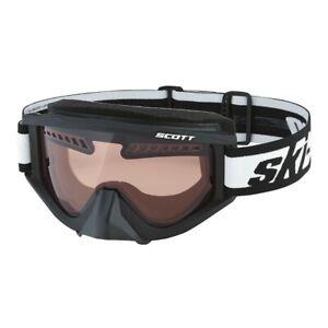Ski-Doo by Scott New OEM Snowmobile Tinted Trail Riding Goggles Black 4486170090