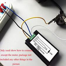 Digital AC 20A Power Meters Volt Amp kWh Watt Cambo Energy Meter Box Monitor