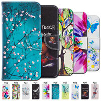 PU Leather Case Flip Wallet Cover For Samsung Galaxy A10 20 30 40 50 70 A6 A8+