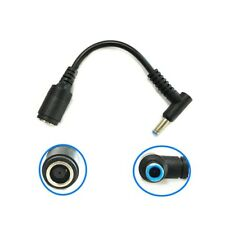 1pcs DC Power Charge Converter Adapter Cable Cord 7.4*5.0 to 4.5*3.0 For HP Dell