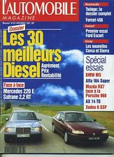 L'AUTOMOBILE MAGAZINE n°557 11/1992