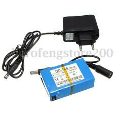 Portable DC 12V 1800mAh Rechargeable Li-ion Battery + EU Plug Charger For CCTV