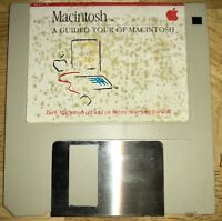 1984 Macintosh M0001 128K A Guided Tour of Macintosh Software Disk Mac WORKING!