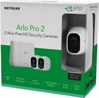Arlo Pro 2 2-Camera Indoor/Outdoor Wireless 1080p Security Camera System WHITE