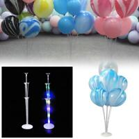 LED Light Balloon Stands Holders Set Base Table Support Xmas Wedding Party Decor