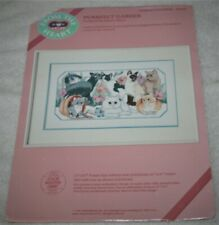 vintage Dimensions/From The Heart ~Purrfect Garden~ (cats/kittens) #53522