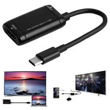 Mini USB Type-C 3.1 Male to 1080P HDMI Female Video Adapter Converter Cable
