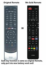 Toshiba CT-90366 CT90366 Replace remote fit For 46SL417U 55SL417 32SL415U