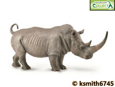 CollectA WHITE RHINOCEROS solid plastic toy wild zoo animal RHINO * NEW 💥