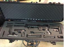 """Tactical Gun Case Hard Shell 42"""" Plano Waterproof Fits AR 15 Rifle Scope Firearm"""