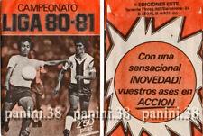 """ULTRA RARE !! Pochette """"CAMPEONATO LIGA 80-81 ESTE"""" bustina, packet, tüte PANINI"""