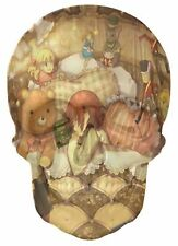 Gothic Skull Double Exposure Childrens Fairytale Toys View Wall Sticker 1066