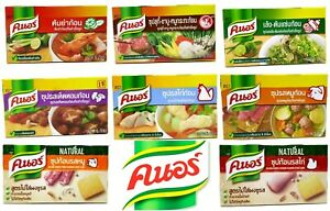Knorr Cubes Soup Natural Flavored Seasoning Quality Taste Happy Meal Delicious