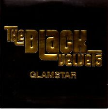 THE BLACK VELVETS - GLAMSTAR - RARE PROMO CD SINGLE - CARD COVER - MINT