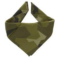 Original Swedish army M90 Bandana splinter camouflage Scarf Sweden military NEW