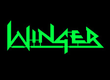 Winger unique and cool steel sign 80s American Hair band Rock logo