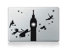 "Peter Pan Disney Clock Tower Vinyl Decal Sticker for Macbook Air/Pro/Retina 13"""