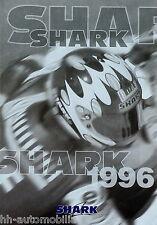 Shark Helme Prospekt 1996 Broschüre Motorradhelme brochure helmets Motorrad bike