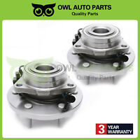 Front Wheel Bearing Hub Set of 2 for 2006 2007 2008 2009 Hummer H3 w/ABS 515093