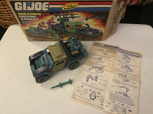 Vintage G.I. Joe Dreadnok Ground Assault Vehicle, w box, Hasbro 1986