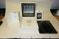 Apple iPad (1st Generation), White, # A1337, (WiFi+3G+64GB) + Case bundle