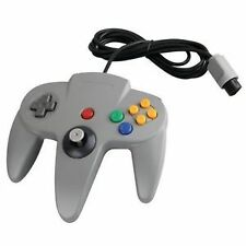 Grey Nintendo GameCube Controllers and Attachments
