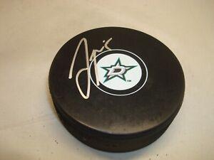 Jamie Oleksiak Signed Dallas Stars Hockey Puck Autographed 1A