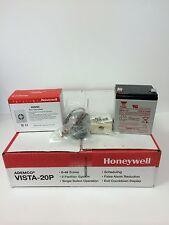 Honeywell Vista 20P Security Panel, Wave2 Siren, 12V Battery, RJ31X. New Ademco