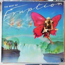 ERUPTION LP THE BEST OF 1981 GERMANY VG+/VG++