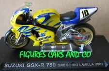 1/24 MOTO GP SERIE 1  HORS SERIE SUZUKI GSXR 750 GREGORIO LAVILLA #10