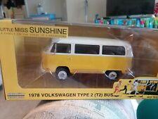 1978 VOLKSWAGEN T2 BUS LITTLE MISS SUNSHINE 1/24 DIECAST MODEL GREENLIGHT 84081