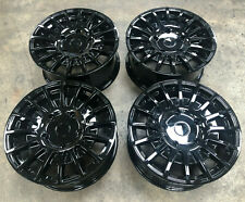 """18"""" FORD TRANSIT *LOAD RATED* GLOSS BLACK ALLOY WHEELS FITS FORD TRANSIT 5X160"""