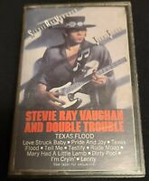 Stevie Ray Vaughan And Double Trouble, Texas Flood, Cassette Tape