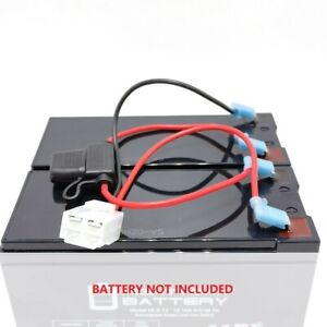 Wire Harness with Plug for Hyper HPR 350 Dirt Bike Battery Replacement (no bat.)