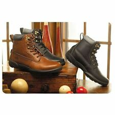 Boss Men's Diabetic Boots with Free Heat Moldable Inserts by Dr Comfort