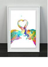 Paper Elephants Decorative Posters & Prints