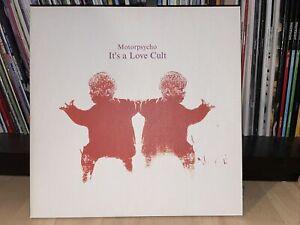 Motorpsycho - Motorpsycho - It's A Love Cult  Vinyl 2-LP Neu OVP 180g Red Vinyl