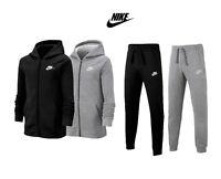 Nike Boys Kids Fleece Tracksuit Jogging Bottoms Hoodie Jacket Top Training Pants