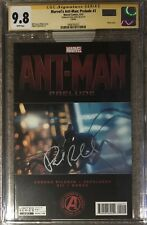 Marvel's Ant-Man Prelude #2 photo cover__CGC 9.8 SS__Signed by Paul Rudd