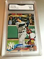 AARON JUDGE ALL STAR ROOKIE FUTURE STARS 2018 Topps #1 GMA Graded 10 Gem MT