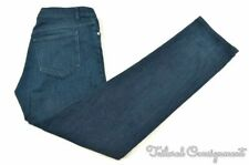 APC Blue Solid Denim Cotton Blend Mens Pants Jeans - 34