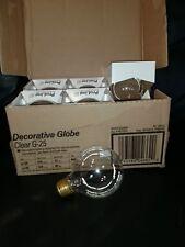 6 PACK GE ProLine G-25 G25 Incandescent 60W Light Bulb 130V Medium Base