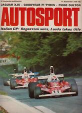 Autosport September 11th 1975 *Italian Grand Prix*